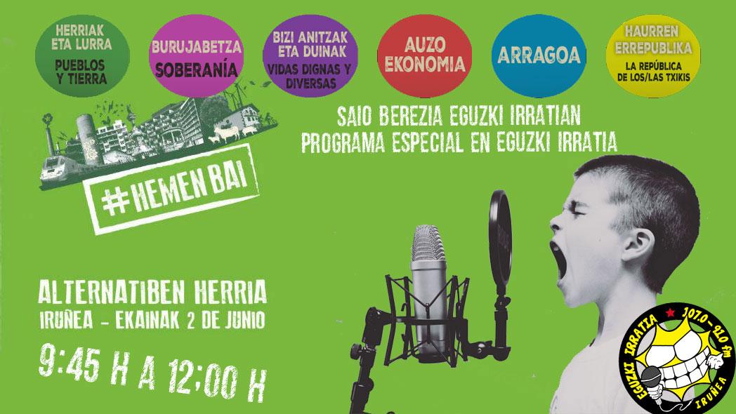 Jornada de movilizaciones contra la estatalización y milagro económico español.