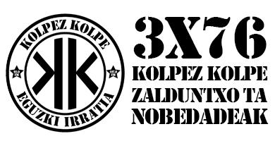 3×76 – Kolpez Kolpe – Zalduntxo ta nobedadeak