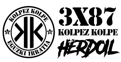3×87 – Kolpez kolpe – Herdoil Noiz Arte