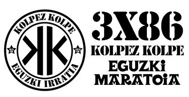3×86 – Kolpez kolpe – Eguzki maratoia