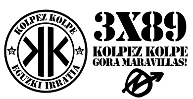 3×89 – Kolpez kolpe – GORA MARAVILLAS!