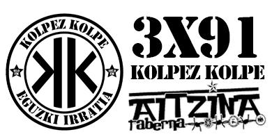 3×91 – Kolpez kolpe – Aitzina Taberna