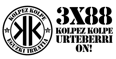 3×88 – Kolpez kolpe – Urte berri on!!