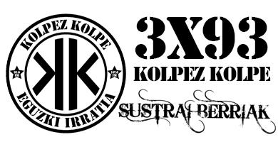 3×93 – Kolpez kolpe – Sustrai Berriak