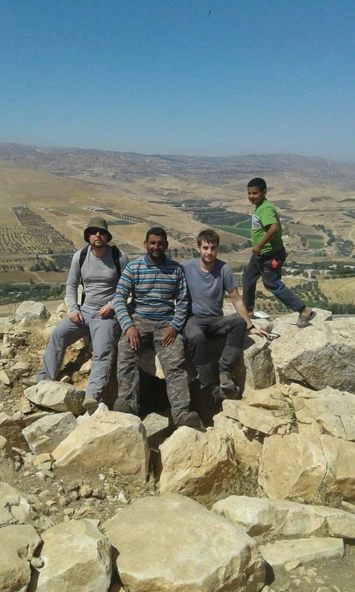 El Gallico de San Cernin. 18-04-2019. Sección cultural II: Proyecto arqueológico Jebel Al-Mutawwaq (Zarqa/Mafraq; Jordania).